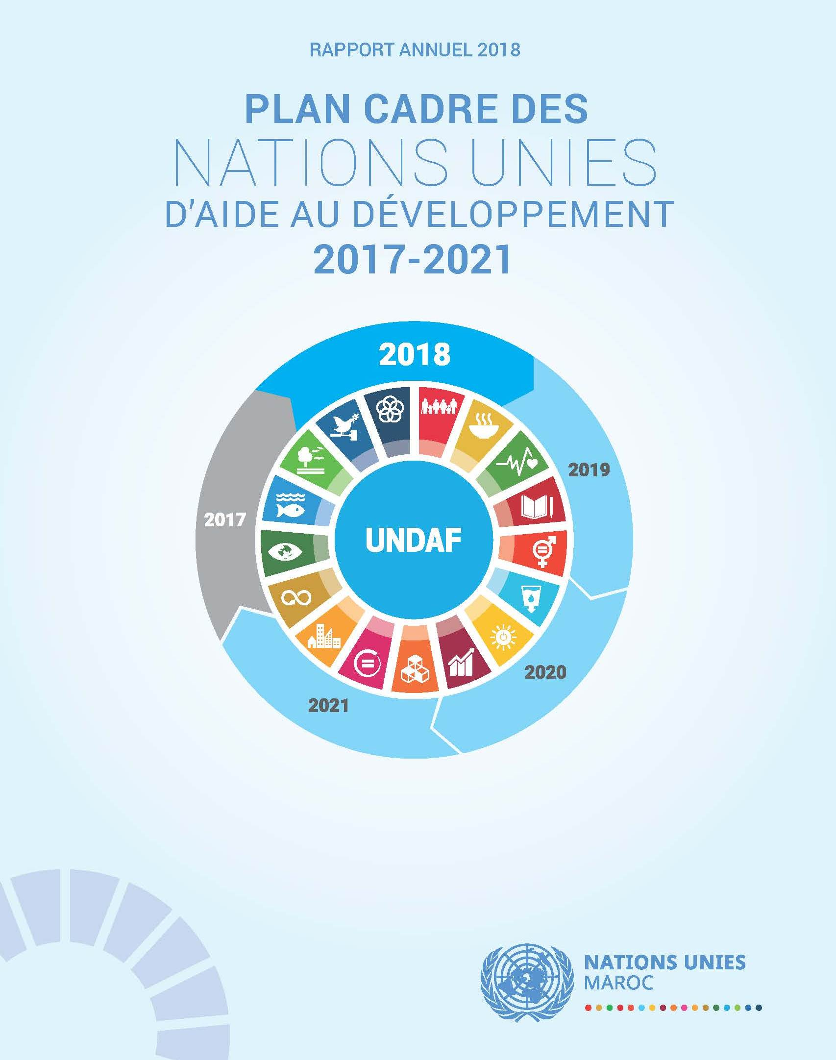Rapport annuel UNDAF 2018