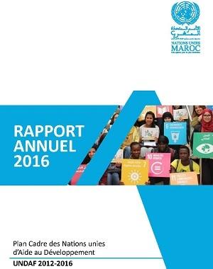 Rapport annuel UNDAF 2016