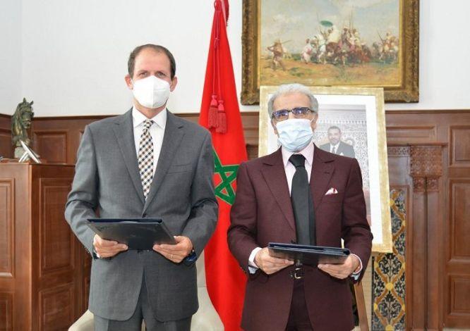 Signature d'un protocole de coopération entre Bank Al-Maghrib et le PNUD
