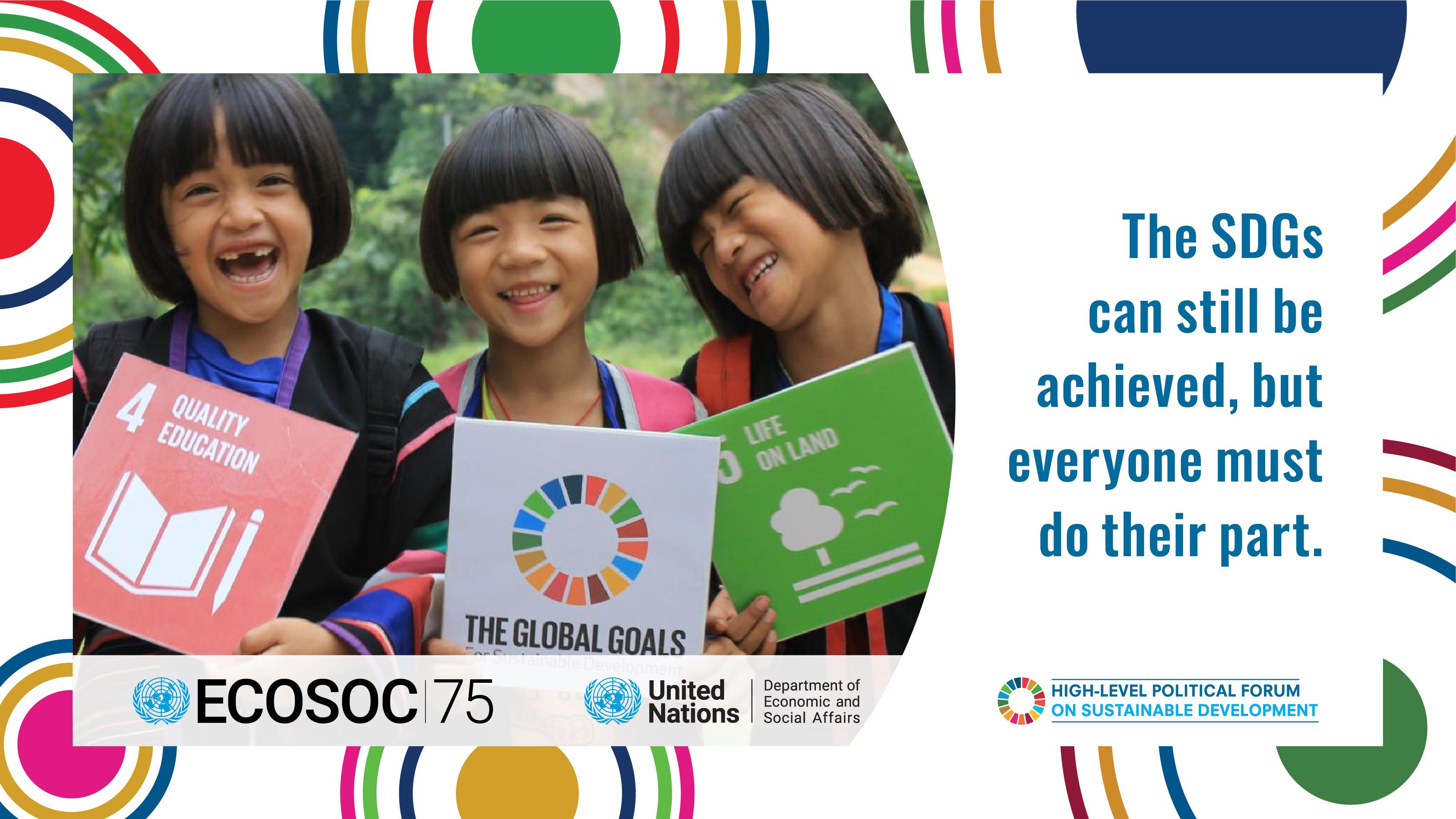 Rapport sur les Objectifs de Développement Durable 2021: Les 18 prochains mois seront determinants pour inverser les impacts de la pandémie