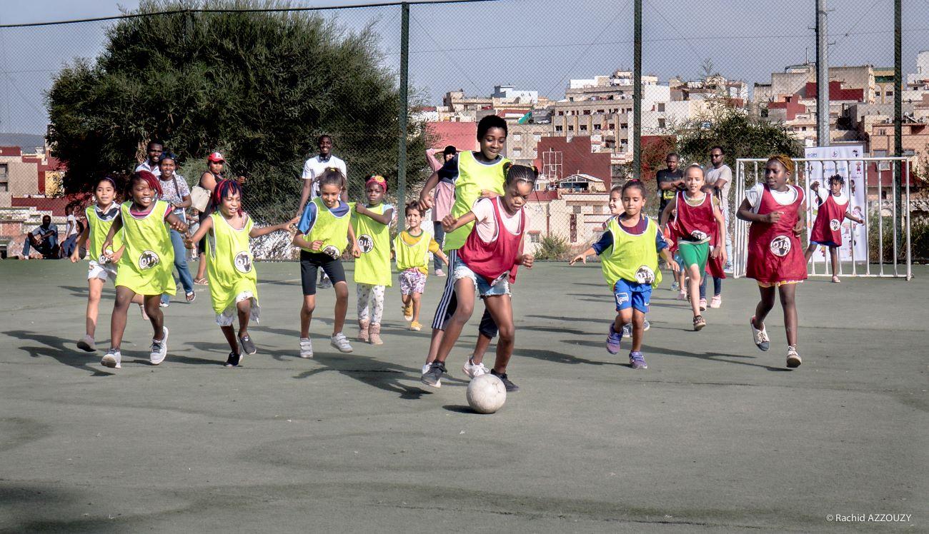 Amal- Trois années d'action conjointe pour les jeunes migrants et réfugiés au Maroc
