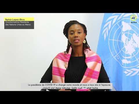 la famille ONU Maroc lance un vibrant appel conjoint pour faire face-ensemble- aux fausses informations et rumeurs qui circulent sur la pandémie de la Covid-19 notamment sur les réseaux sociaux.