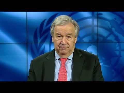 Le Secrétaire Général de l'ONU plaide pour  des systèmes éducatifs de qualité, inclusifs et résilients